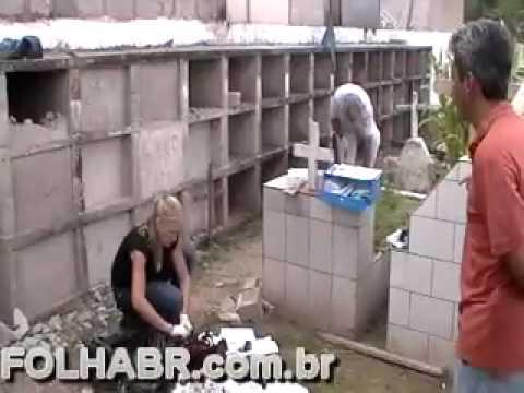 EXUMAÇÃO CEMITÉRIO DA SAUDADE