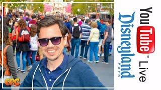 🔴 LIVE AT DISNEYLAND | BEAUTY & THE BEAST REACTION | GIVEAWAY UPDATE