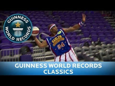 Records - Subscribe for more: http://bit.ly/subscribetoGWR Watch our Interview with Harlem Globetrotters: http://bit.ly/1jYm1Yt Corey