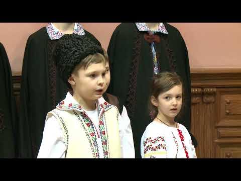 В гостях у Игоря Додона в Президентуре стала группа колядующих