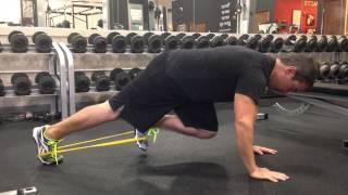 ミニバンドで腸腰筋+体幹補強!~Plank March~