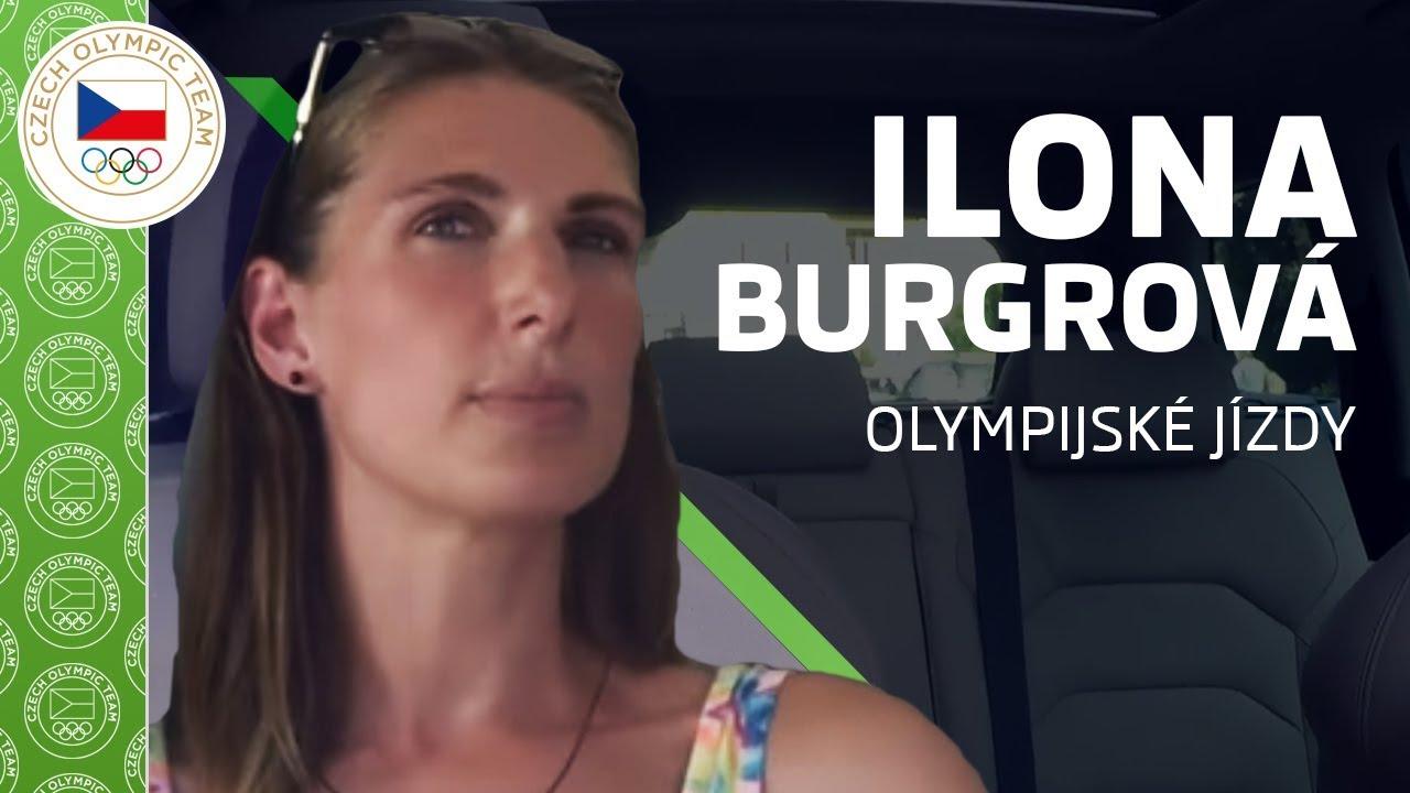 ŠKODA olympijské jízdy s Ilonou Burgrovou ️