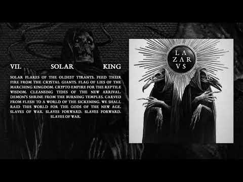 LAZARVS - SOLAR KING (Official Audio)