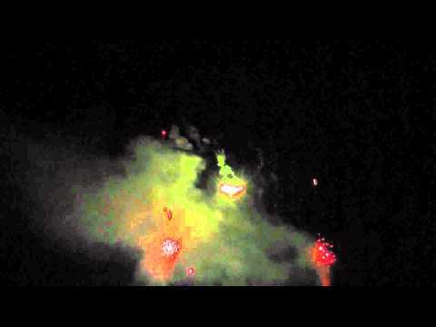 Feuerwerk 20.08.11 Hönow bei Berlin