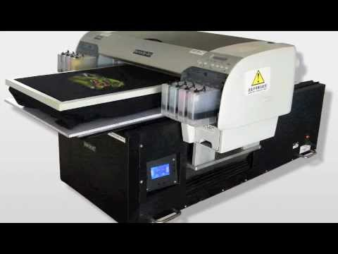 Digital Flatbed T-shirt Printer /Direct To Garment DTG /Start your own T-shirt Business