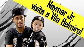 Neymar visitou a Vila Belmiro nesta última quarta-feira (10-07-2013). Confira como foi a recepção ao craque! ** Inscreva-se na...