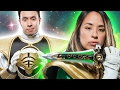 Super Fans Try On Power Ranger Suits waptubes