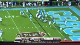 Ryan Williams vs North Carolina 2010 vs  (2010)