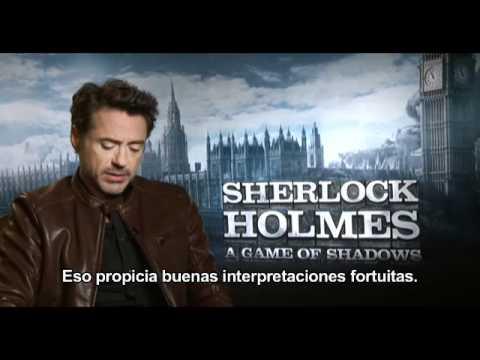 Sherlock Holmes: Juego de Sombras - Robert Downey Jr.?>