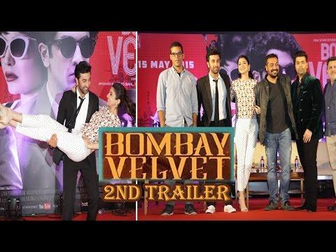 Ranbir Kapoor, Anushka Sharma At 2nd Trailer Launch Of Bombay Velvet