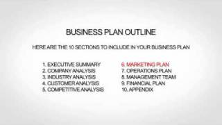 Business plan for internet business