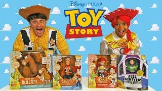 Video Toy Story Signature Collection Toy Challenge + Jesse & Woody ! || Toy Review || Konas2002 MP3, 3GP, MP4, WEBM, AVI, FLV April 2019