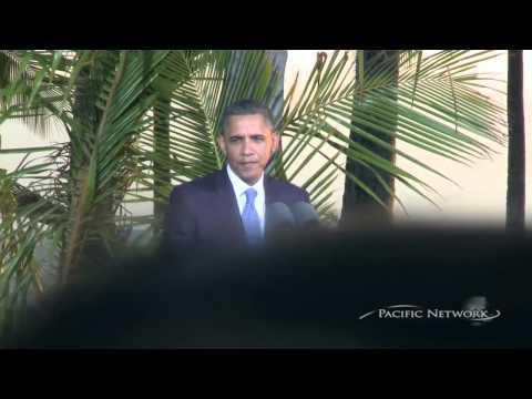 President Barack Obama Clarifies Hot Mic With Sarkozy About Netanyahu