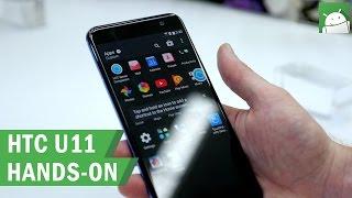 HTC U11: hands-on