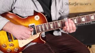 How to Play the Slide Guitar Intro from Free Bird by Lynyrd Skynyrd