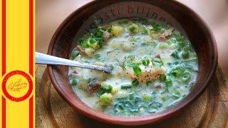Самый летний суп. Рецепт вкуснейшей окрошки на домашнем квасе от Евгении Ковалец. группа ok http://ok.ru/ugostiblijnego группа vk http://vk.com/ugosti_blijne...