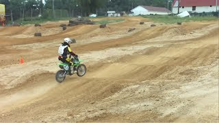 7. KAWASAKI KLX 110 BREAK IN SESSION