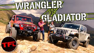 Wrangler Vs. Gladiator: What's The Best Jeep Off-Road? We Race To Find Out! Montezuma Challenge Ep.2 by The Fast Lane Car