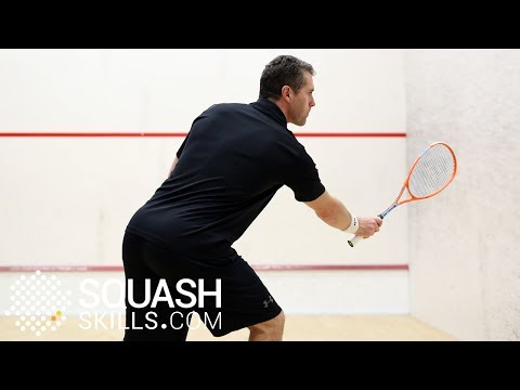 Squash tips: How to use height with David Palmer