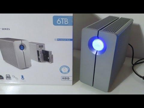 LaCie 2big Thunderbolt 6TB RAID Drive Review / Speed Test