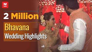 Download Video Bhavana Wedding Highlights; Mammootty, Lal, Celebrities Attend Grand Reception MP3 3GP MP4