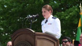 2016 U.S. Coast Guard Academy cadet commencement address by Jacquelyn Kubicko