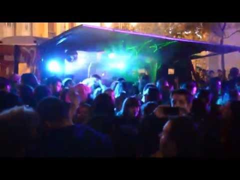 Impresionante ambiente con La Duendeneta en las fiestas de San Froilán de Lugo