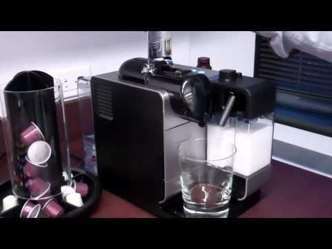 My New nespresso delonghi lattissima machine: magic again