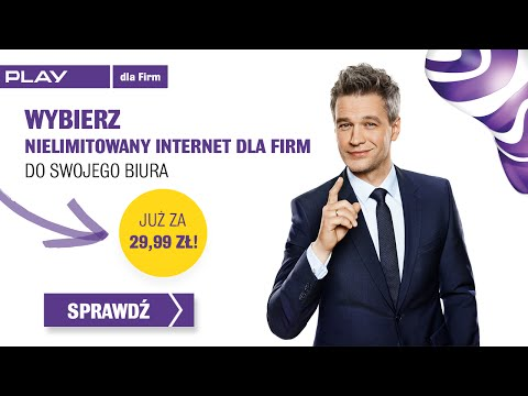 Play: nielimitowany internet dla firm