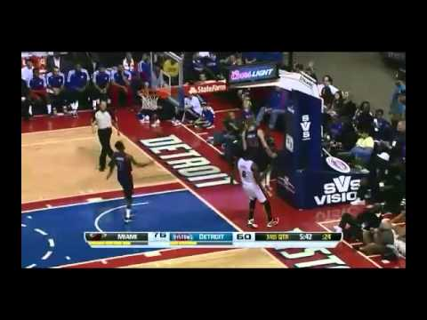 LeBron James calme les Pistons