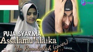 Video PUJA SYARMA - Assalamu'alaika (Cover)   INDIAN REACTION TO INDONESIAN VIDEO MP3, 3GP, MP4, WEBM, AVI, FLV Agustus 2018