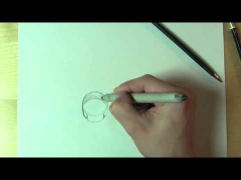 3D Objekte zeichnen lernen / Ring zeichnen im Online Kurs