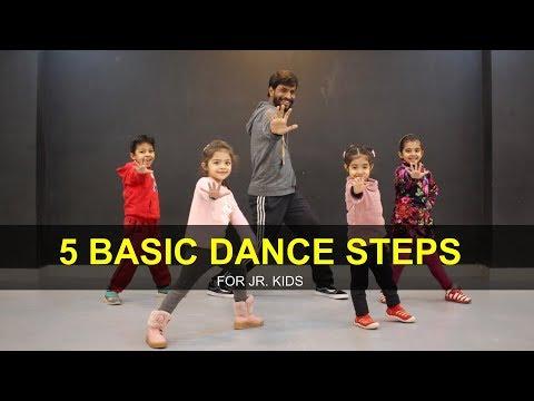 Dance Tutorial For 3 To 7 Years Kids | 5 Basic Steps | Deepak Tulsyan | G M Dance