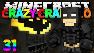 """Minecraft Mods Crazy Craft 2.0 """"THE BATCAVE!"""" Modded Survival #31 w/Lachlan"""