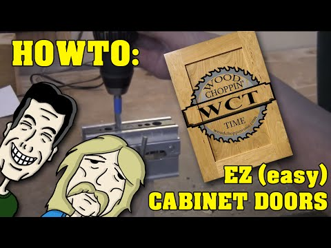 making doors - How to make cabinet doors with just a few power tools.
