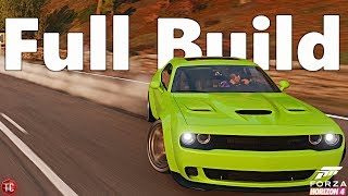 Forza Horizon 4: Dodge Challenger Hellcat | WIDEBODY DRIFT BUILD! 1,000+ HP