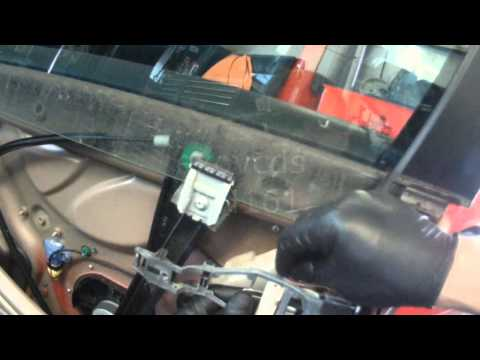VW A5: Golf / Rabbit Driver Side Door Lock Actuator removal & install