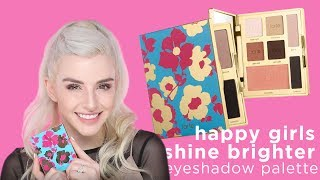 happy girls shine brighter eyeshadow palette with Jen
