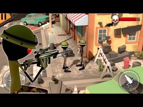 Video Stickman Shooter Modern Warrior (by Awesome Action Games) Android Gameplay [HD] download in MP3, 3GP, MP4, WEBM, AVI, FLV January 2017