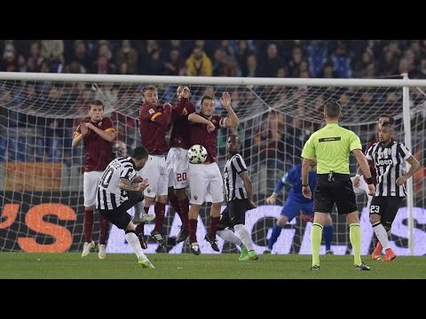 roma vs juventus 1-1 || highlights & goals