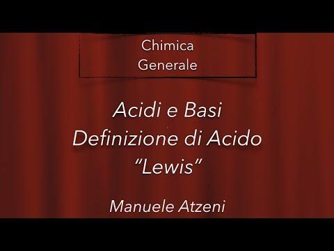 Chimica Generale (Acidi secondo Lewis) L77
