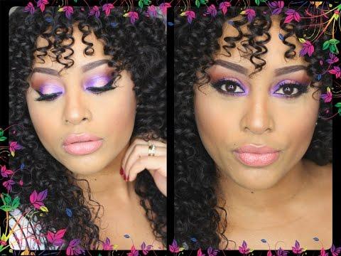 Maquillaje Dulce Púrpura\ Sweet Purple Makeup