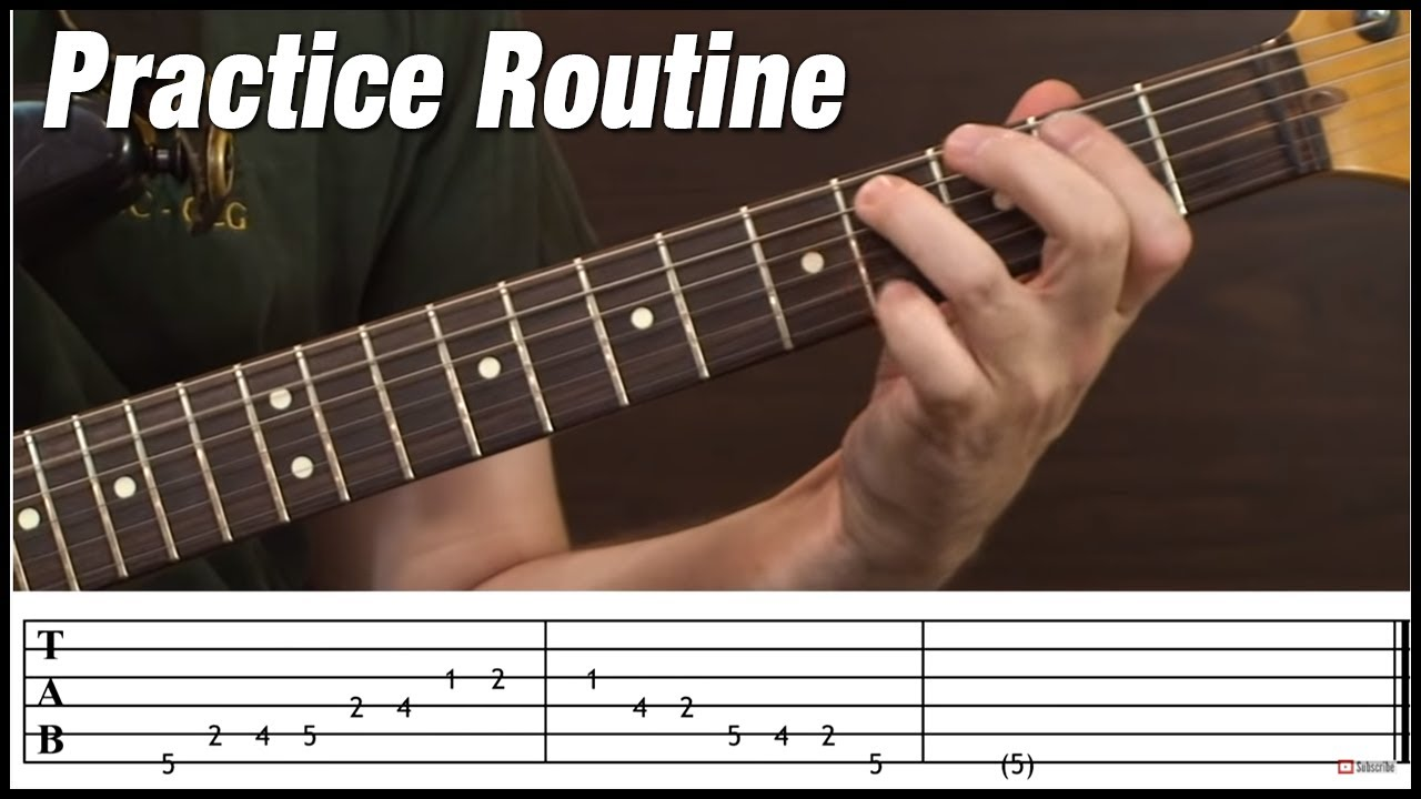 Practice Routine for Scales, Arpeggios and Chords…