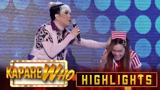 Video Vice pinches Stephen as she gives a cheesy message to Ryan | It's Showtime KapareWho MP3, 3GP, MP4, WEBM, AVI, FLV April 2019