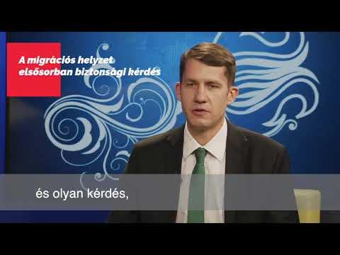Pásztor Bálint: A migrációs helyzet elsősorban biztonsági kérdés-cover