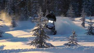 9. SKI-DOO SUMMIT E-TEC - DEEP POW - GoPro HD!