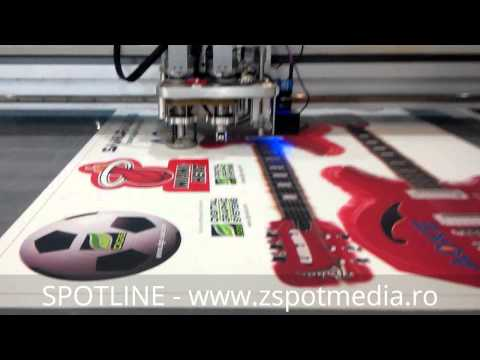 Video Flatbed cutter SpotMaster XTREM SMF-Z75