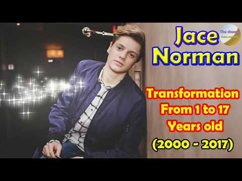 Jace Norman transformation from 1 to 17 years old