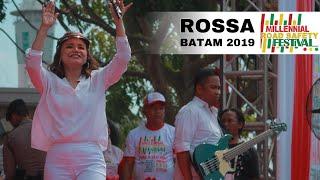 Video Rossa - Tegar (Live at Millennial Road Safety Festival Batam) MP3, 3GP, MP4, WEBM, AVI, FLV Mei 2019