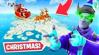 *NEW* CHRISTMAS UPDATE arrives to Fortnite! (Skins, Map Changes + MORE)